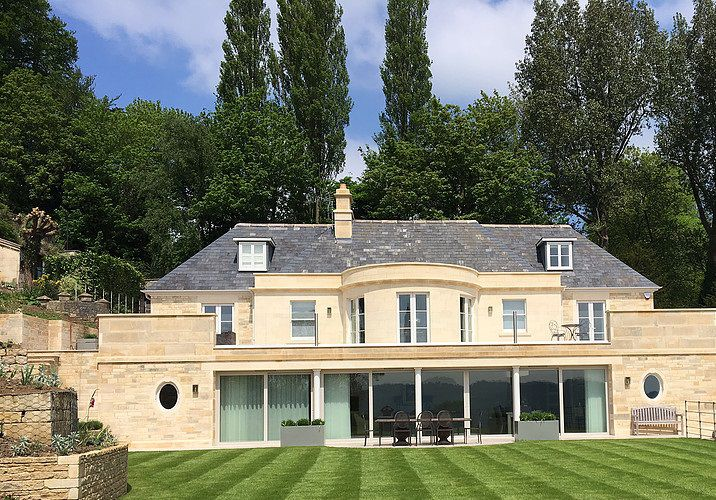 A new build property in Bath